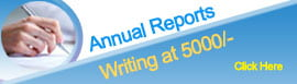 Annual Reports Writing at 5000/-