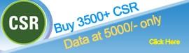 3500+ CSR Database at 5000/-